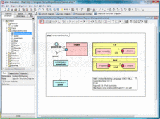 Screenshot of astah* UML - Application - V6.6.3